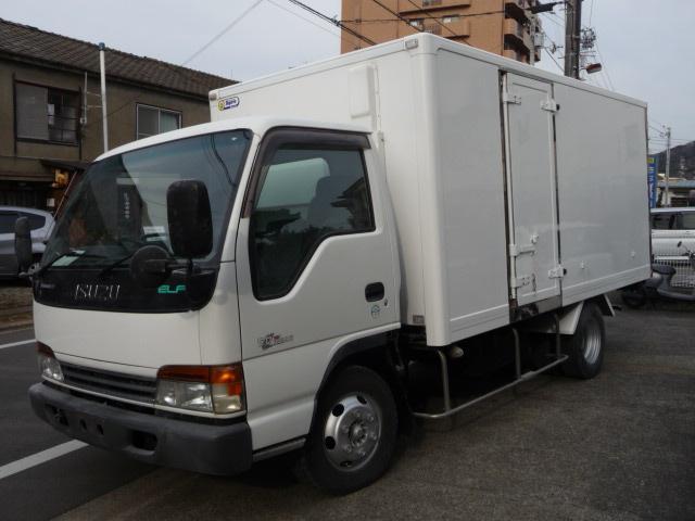 いすゞ エルフトラック エルフ3トンワイドロング保冷 中温冷凍車 ...