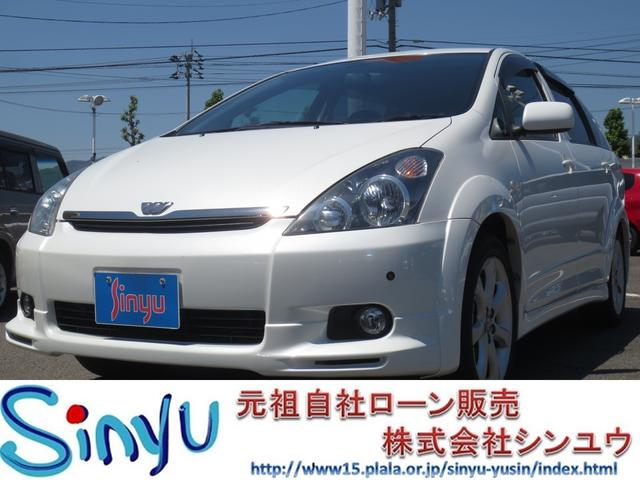 トヨタ ウィッシュ Z 純正アルミホイール コーナーセンサー サン...