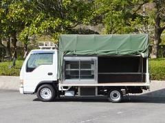 エルフトラック 1.55t 荷台内冷蔵ショーケース付(いすゞ)