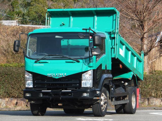 いすゞ 7.5t 増トン ダンプ
