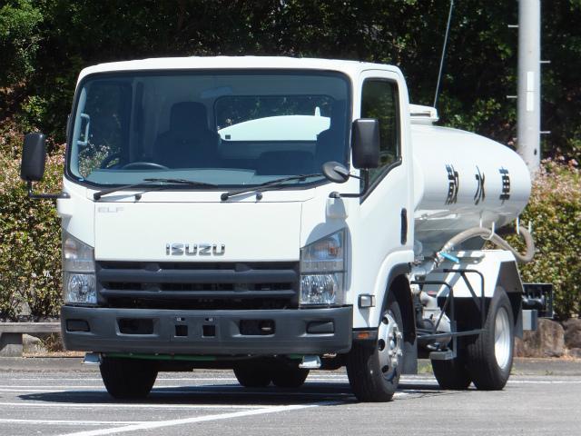 いすゞ エルフトラック 4t ワイド 散水車 (なし)