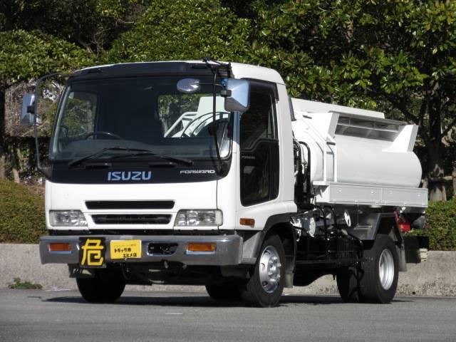 いすゞ 3.54t 4.5KL タンクローリー