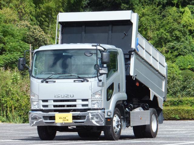 いすゞ 6.8t 増トン ダンプ