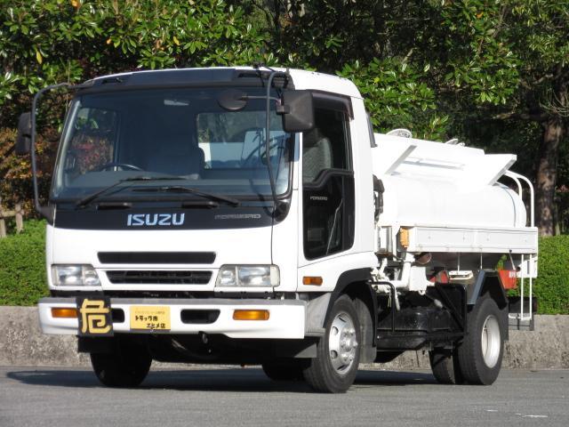 いすゞ 3.4t 4KL タンクローリー