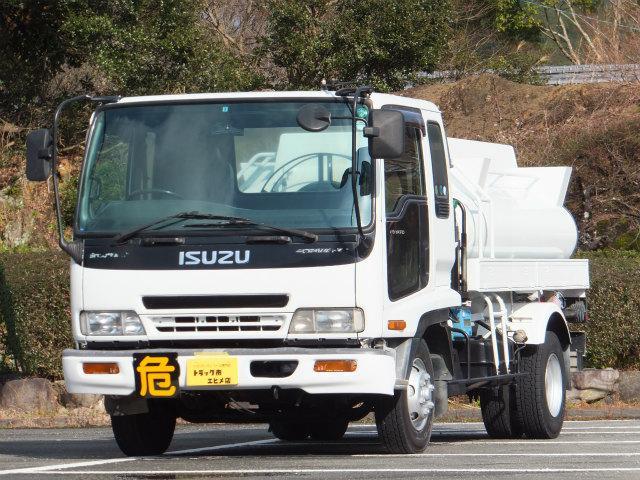 いすゞ 3.4t 4KLタンクローリー