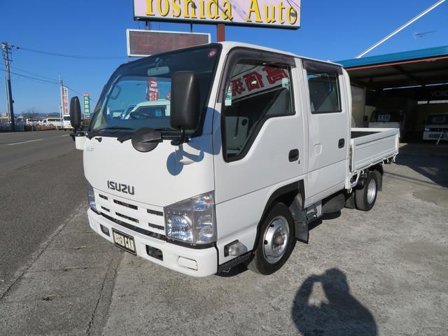 いすゞ エルフトラック 3.0D Wキャブ (車検整備付)