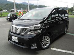 ヴェルファイア HDDナビ 左パワースライド 社外シートカバー フルセグTV(トヨタ)