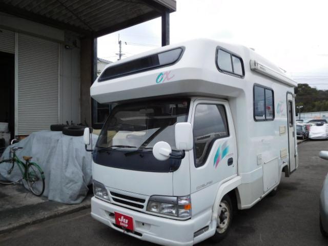 いすゞ エルフトラック キャンピング YMS オックス (検29.10)