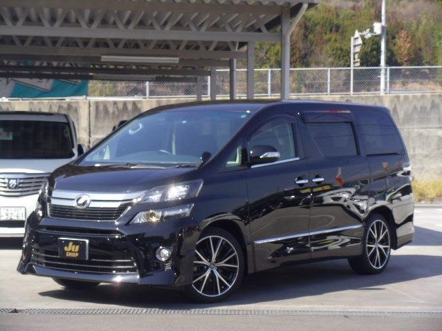 トヨタ 2.4Z ゴールデンアイズ 7人 社外19インチ SDナビ