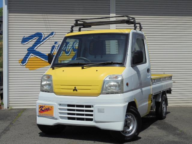 三菱 5速4WD タイベル済 ルーフキャリア付