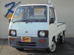 サンバートラックレトロ 4WD デフロック