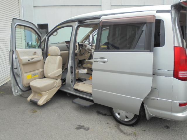 日産 V-G 福祉車両 スライドアップシート ナビ付き 介護
