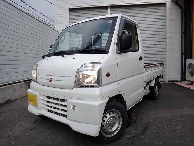 三菱 ミニキャブトラック エアコン パワステ 作業灯 (車検整備付)