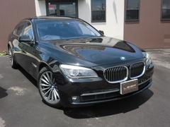 BMW750i サンルーフ HDDナビ 黒革シート バックカメラ