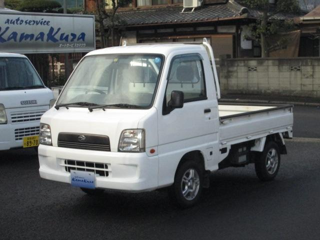 スバル サンバートラック 4WD 5速 AC PS (なし)