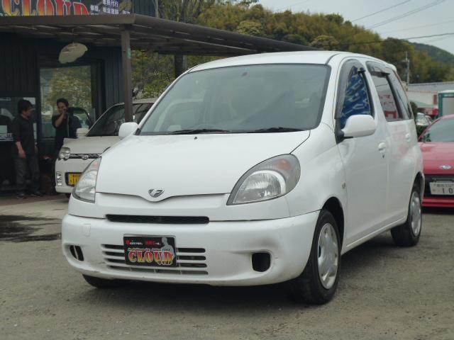 トヨタ ファンカーゴ X (車検整備付)
