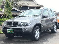 BMW X53.0i ワンオーナー HDDナビTV 4WD