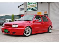 VW ゴルフGLi ローダウン 外品アルミ