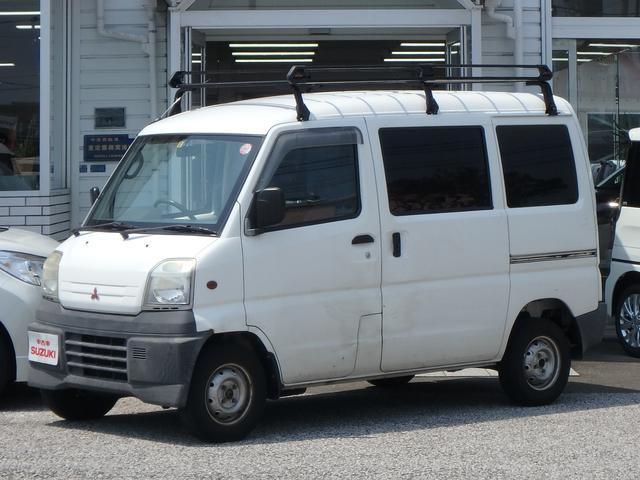 三菱 ミニキャブバン CD ハイルーフ ルーフキャリア (車検整備付)