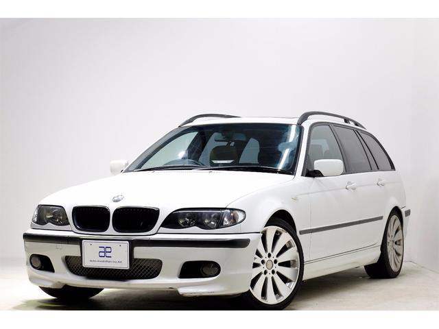 BMW 3シリーズ 318iツーリング 18AW ETC サンルー...