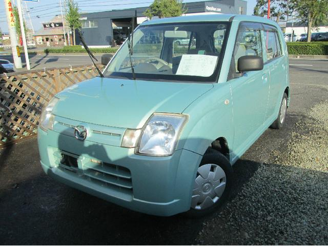 マツダ キャロル キーレス バッテリ新品 タイヤ新品 (車検整備付)