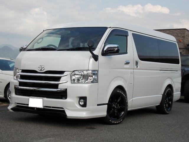 トヨタ ハイエースワゴン GL10人乗り カスタム パワスラ SD...