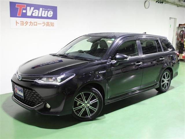 トヨタ カローラフィールダー ハイブリッドG ダブルバイビー (検...