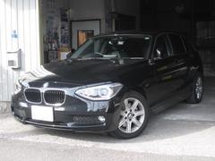 BMW116i NEW i−driveHDDナビ ワンオーナー