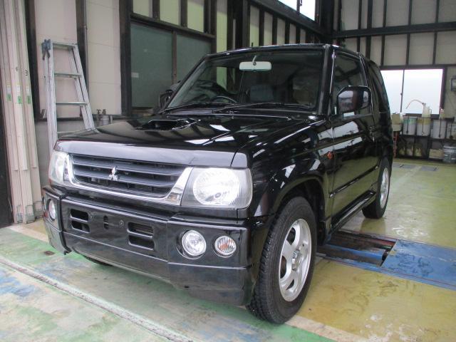 三菱 パジェロミニ R ターボ 2WD ETC キーレス (車検整備付)
