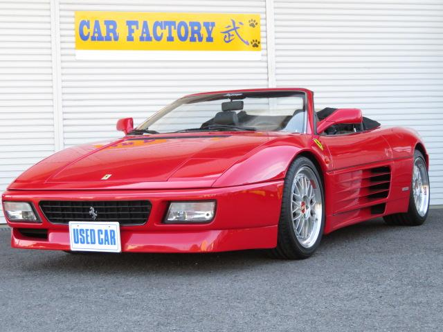 フェラーリ スパイダー D車 BBS18AW MSRasing CD