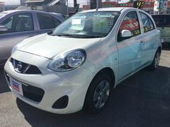 沖縄の中古車 日産 マーチ 車両価格 99万円 リ済別 平成27年 2.5万K パール