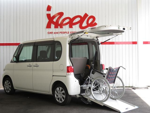 ダイハツ 福祉車 車椅子スローパー 車椅子固定装置 スライドドア
