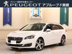 プジョー 508SW GT ブルーHDi 認定中古車 ナビTV ハーフ革S