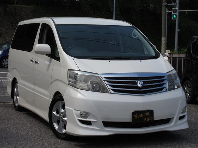 トヨタ AS リミテッド後期HDDナビ両側電動ドア黒革調シートカバー