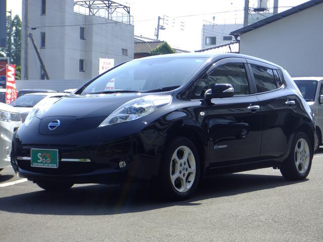 日産 G EV専用車 LEDヘッドライト 純正ナビ フルセグTV