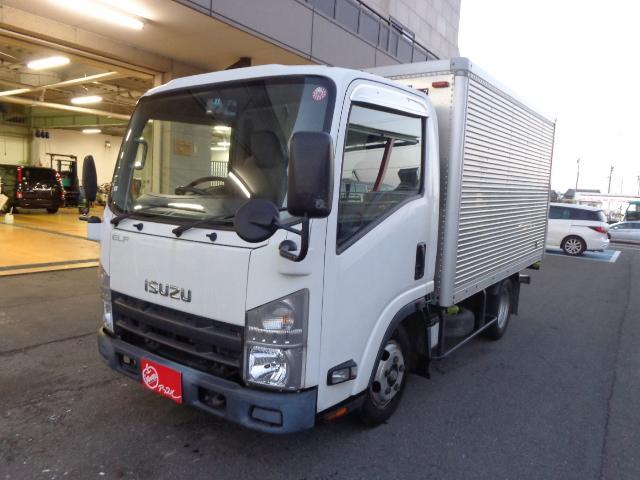 いすゞ エルフトラック 2トンアルミバン 荷室サイズ310X178...