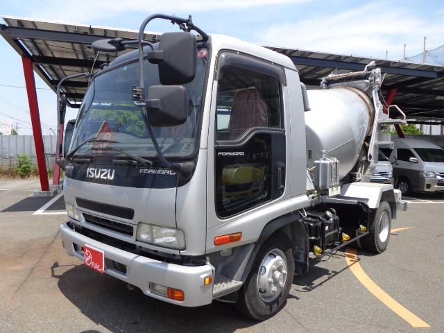 いすゞ ミキサー車 3.2立米 3.7t積