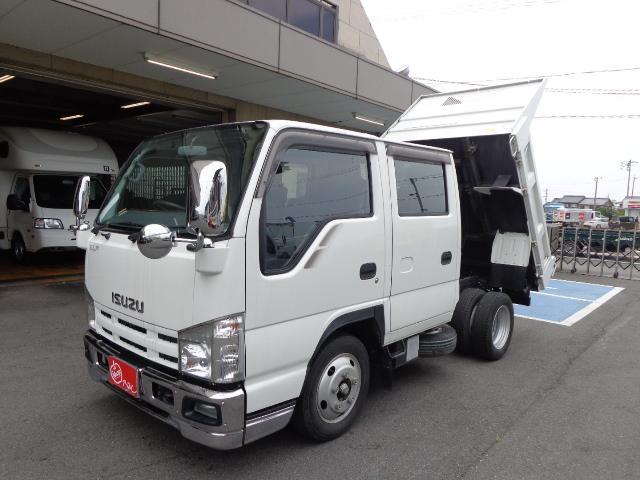 いすゞ エルフトラック 1.75トン Wキャブ ダンプ (なし)