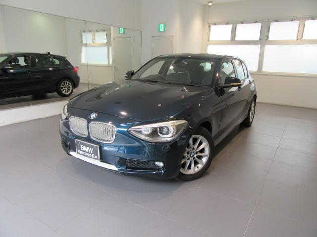 BMW 1シリーズ 116i スタイル ワンオーナー ノンスモーキ...