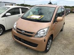 沖縄の中古車 ダイハツ ムーヴ 車両価格 44万円 リ済込 平成21年 5.6万K オレンジ
