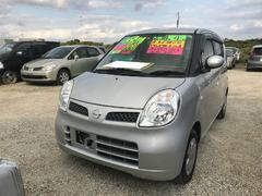 沖縄の中古車 日産 モコ 車両価格 40万円 リ済込 平成21年 7.2万K シルバー