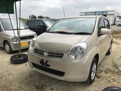 沖縄の中古車 トヨタ パッソ 車両価格 49万円 リ済込 平成23年 2.4万K ベージュ