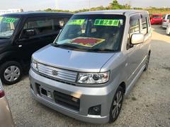沖縄の中古車 スズキ ワゴンR 車両価格 50万円 リ済込 平成20年 7.8万K シルバー