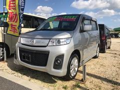 沖縄の中古車 マツダ AZワゴンカスタムスタイル 車両価格 54万円 リ済込 平成21年 4.7万K シルバー