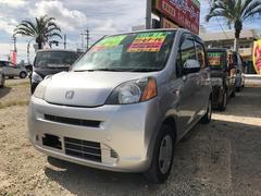 沖縄の中古車 ホンダ ライフ 車両価格 40万円 リ済込 平成22年 5.2万K シルバー