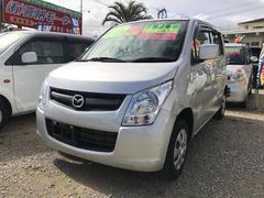 沖縄の中古車 マツダ AZワゴン 車両価格 50万円 リ済込 平成24年 3.5万K シルバー