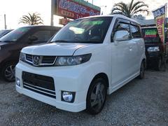 沖縄の中古車 ホンダ ゼストスパーク 車両価格 54万円 リ済込 平成23年 6.7万K パールホワイト