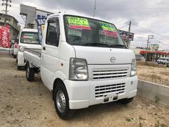 沖縄の中古車 マツダ スクラムトラック 車両価格 40万円 リ済込 平成18年 9.5万K ホワイト
