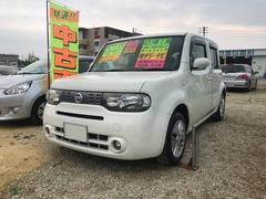 沖縄の中古車 日産 キューブ 車両価格 59万円 リ済込 平成24年 2.6万K パール