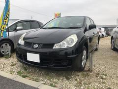 沖縄の中古車 日産 ウイングロード 車両価格 39万円 リ済込 平成21年 7.3万K ブラック